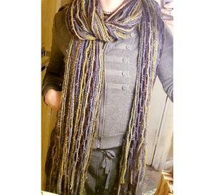 Knitted Scarf Handmade Super Versatile, Warm Cute